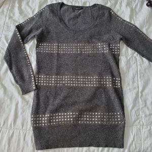 BCBG Wool Studded Sweater